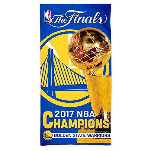 e Warriors 2017 NBA Champs NBA Strandtuch ()
