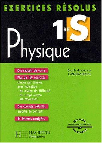 Exercices résolus : Physique, 1ère S