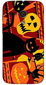 Outstanding 3D multicolor printed protective REBEL mobile back cover for MotoG(1st Gen ) - D.No-DEZ-2414-motog1