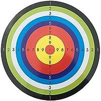 Lecimo Objetivos úTiles Papel de Tiro con Arco, Papel de Alta Resistencia, Caras de Objetivo para Arrow Bow Shooting Práctica de Caza