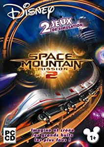 Coffret Disney Space Mountain 2 : Roller Coaster Simulator + Ultimate Ride