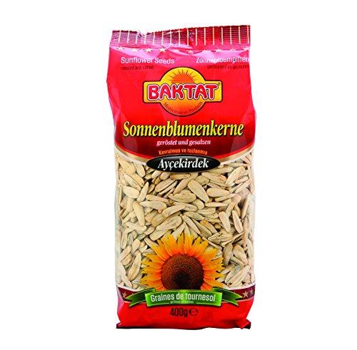 Baktat Sonnenblumenkerne ges. , 4er Pack (4x 400 g Packung) Test