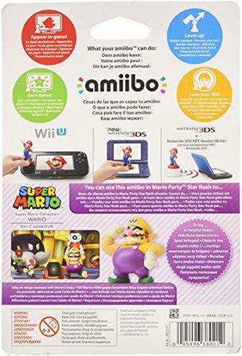 Nintendo   Amiibo Wario  Colección Mario