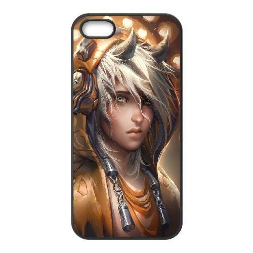 Demon Boy coque iPhone 5 5S Housse téléphone Noir de couverture de cas coque EBDXJKNBO10570