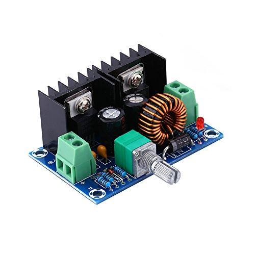 - Buck Konverter 4Geschwindigkeit 1,2V-36V 8A 100W verstellbar Step-Down Spannung Power Reducer Regulator Transformer Board Modul Step-down Voltage Converter Transformer