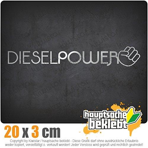 Diesel Power 10 x 18 cm In 15 Farben - Neon + Chrom! JDM Sticker Aufkleber