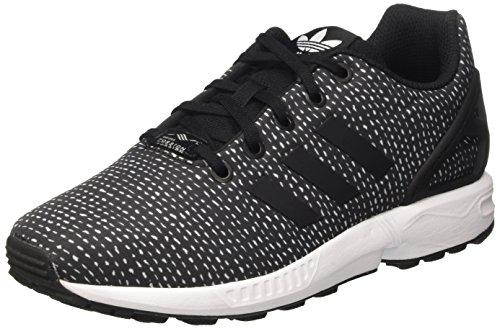 adidas Unisex-Kinder ZX Flux J Gymnastikschuhe, Schwarz (Core Black/Core Black/Ftwr White), 38 2/3 EU