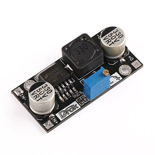 DC Step Down Variable Voltage Regulator 36V bis 24 V 12V 5V 3.3V 3V Buck Converter Elektronische Volt-Ausgleicher Automatic Battery Einstellbare Geregelte Stromversorgung DIY LM2596-Modul-Brett Polarität Schutz