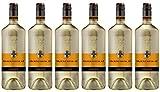 HXM Morio Muskat Lieblich Qualitätswein Rheinhessen 2016 Weißwein (6 x 1 l)