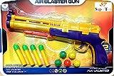 #9: SuperToy(TM) 5 Ping Pong Bowling & 4 Soft Bullets Toy Gun