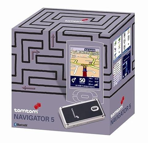 Tomtom Navigator 5 wireless Bluetooth Deutschland für Handheld PDA (Kartenmaterial