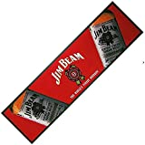 signs-unique Jim Beam Whiskey Large bar wetstop Runner (pp)