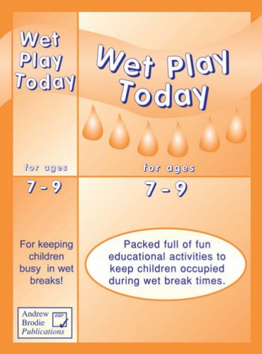 Wet play today for ages 7-9 : packed full of fun educational activities to keep children occupied during wet break times