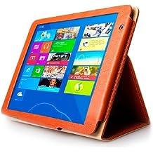 Horizontal Flip Leather funda carcasa case con soporte para Teclast X98Air 3G/X98AIR II/X98Pro Tablet PC, Suitable para s-wmc-0768/0800/0802/0817/0477(Orange)