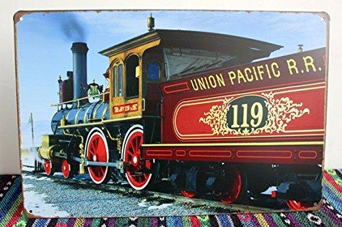 Blechschilder nostalgie retro nostalgische reklameschilder Union Pacific Dampf Motor (Union Pacific Motor)