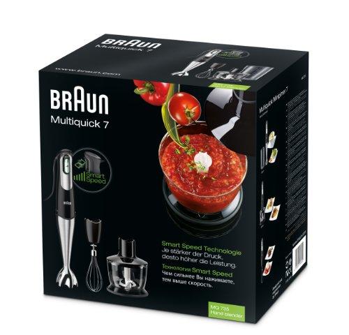 Braun Multiquick Multiquicki MQ 735 Sauce Braun Multiquick, Kunststoff, Schwarz