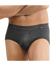 bb703b4b0f Ammann 3er Pack Jeans - Herren Sport Slip - Unterhose Feinripp mit Eingriff  und Weichem Komfortbund