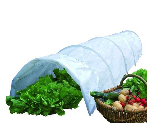 WENKO Garten Vliestunnel Pflanzenschutz Gemüse Anzucht Frühbett Zelt