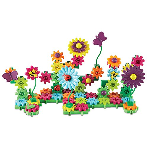 Learning Resources Gears! Blumengarten bauen und erblühen lassen, Baukästen