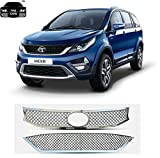 Trigcars Tata Hexa Car Front Grill Chrome Plated Car Bluetooth