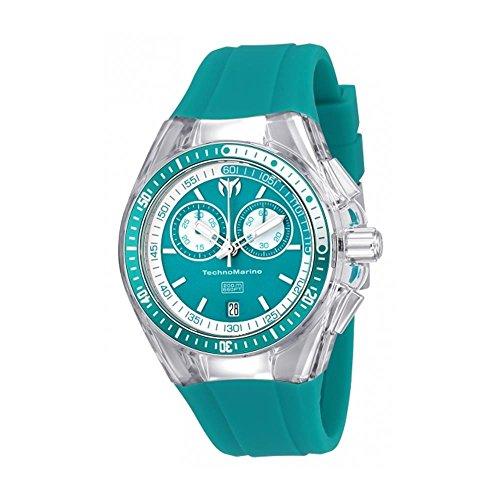 technomarine-cruise-femme-40mm-bracelet-silicone-vert-boitier-acier-inoxydable-quartz-montre-115333