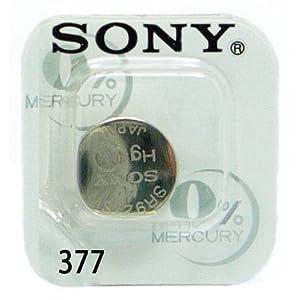 1 Sony SR626SW Spezielle Uhr und Ausrüstung Batterie 377