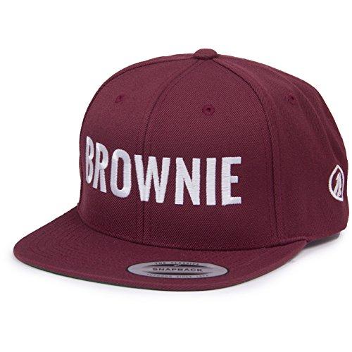 Vogelwuid Damen Cap Brownie , Größe:ONESIZE, Farben:maroon