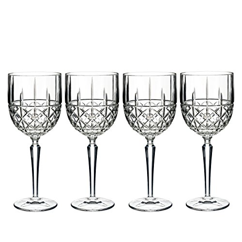 Brady by Waterford Goblet, Set 4 Crystal Goblet Set