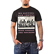Rage Against the Machine T Shirt We Support our Troops offiziell Herren Nue
