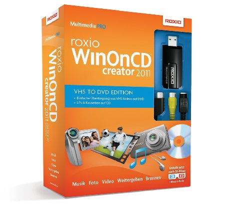 Roxio-dvd-brenner-software (Roxio WinOnCD 2011 VHS to DVD Edition)