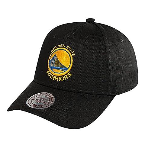 Mitchell & Ness Men Caps / Snapback Cap NBA Team Logo Low Pro Golden State Warriors black