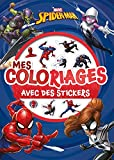 SPIDER-MAN - Mes Coloriages avec Stickers - MARVEL...
