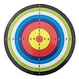 10 Stücke Bogenschießen Training Ziel Papierschießen Zielblatt 45 * 45CM