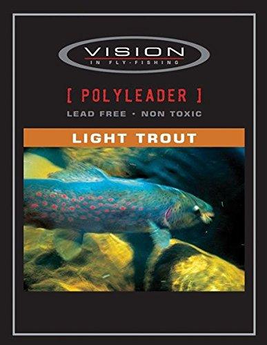 Vision Polyleaders Light Trout Fast Sink Fils et filés équipement pêche VPL4
