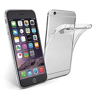 Coque iPhone 6 / 6S, NEWC® Coque de Protection avec Absorption de Choc et Anti-Scratch [ ULTRA TRANSPARENTE SILICONE EN GEL TPU SOUPLE ] pour Apple iPhone 6 / 6S