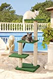 CLEVERCAT Outdoor Modell Formentera. Ideal für die überdachte Terasse oder Balkon. Outdoor Kratzen für Ihren Stubentiger(7422)