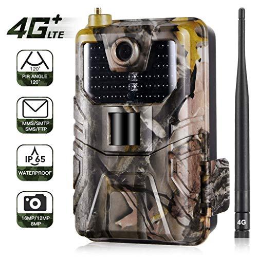 KY Wildkamera Jagdkamera Wildlife Kamera Test Kamera 16MP 1080P wasserdichte Kamera for Die Jagd-Kamera Mit Nachtsicht IP66 90Wide Winkelobjektiv 0.3s Triggering