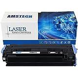 Amstech Compatible de Toner Q6001A para HP Color LaserJet 2600N 1600 2605N 2605DN 2605DTN, CM1015 MFP CM1017 MFP; Canon LBP5000 LBP5100, Cyan, 2000 Page