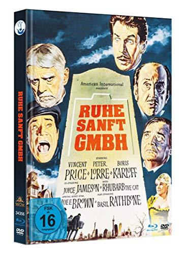 Ruhe Sanft GmbH - Limited Mediabook-Edition - Uncut (Blu-ray+DVD plus Booklet/HD neu abgetastet)