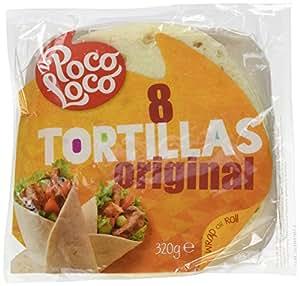 Poco Loco Tortilla Flour Wraps, 8 x 20 cm, 320 g: Amazon