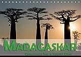Madagaskar - Geheimnisvolle Insel im Indischen Ozean (Tischkalender 2018 DIN A5 quer): Die Insel Madagaskar im Indischen Ozean verspricht dem Besucher ... Orte) [Kalender] [Apr 15, 2017] Pohl, Gerald