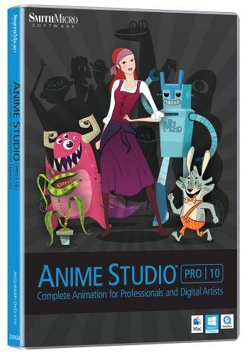 Anime Studio Pro 10 (Mac/PC)