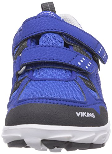 Viking HOBBIT GTX Unisex Kinder Sneakers Blau (Aqua/White 3401)