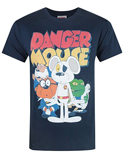 Herren - Official - Danger Mouse - T-Shirt (M) (Mouse T-shirt Danger)