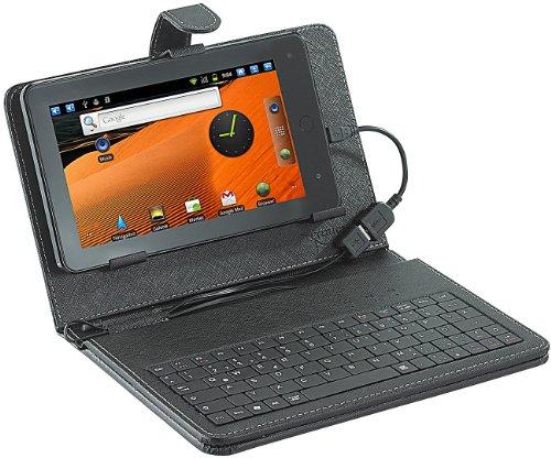 TOUCHLET 2in1-Schutztasche mit Tastatur für Tablet-PC X2,X3,X4,X5 & X7