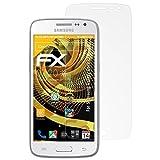 atFolix Schutzfolie für Samsung Galaxy Core LTE Displayschutzfolie - 3 x FX-Antireflex blendfreie Folie
