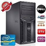 Dell Server PowerEdge T110II Nr Xeon Quad Core E3–122016GB RAM ECC Gunmetal