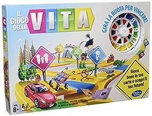 Hasbro Gaming  - The Game of Life, Juego de Tablero (versión en Italiano)