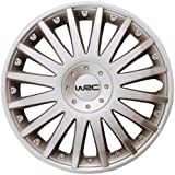 """WRC 4Tapacubos Silver Diseño 3 13"""" inches"""