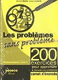 Les problèmes sans problème cycle 3 - Enoncés des 200 exercices, lot de 25 carnets